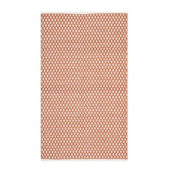Koberec Nantucket 91x152 cm, červený