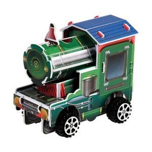 Natahovací skládačka parní lokomotivy Rex London