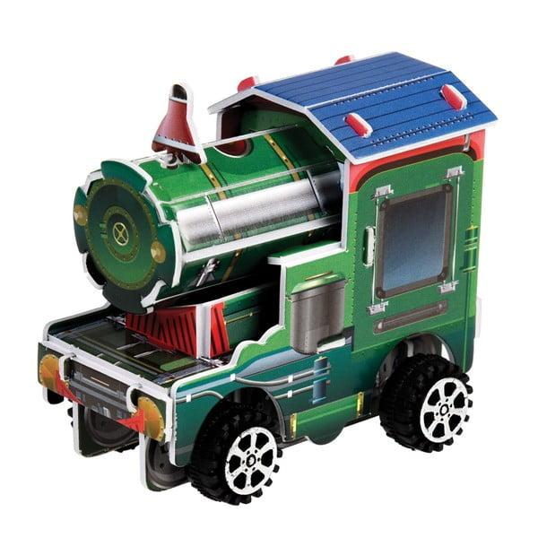 Felhúzható összerakós mozdony - Rex London