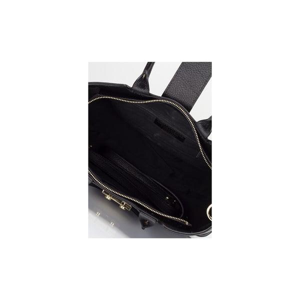 Kožená kabelka Massimo Castelli 5022 Black