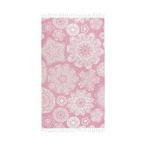 Prosop baie hammam Kate Louise Isabella, 165 x 100 cm, roz