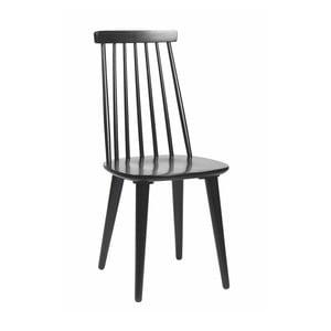 Černá dubová židle Folke Nymph