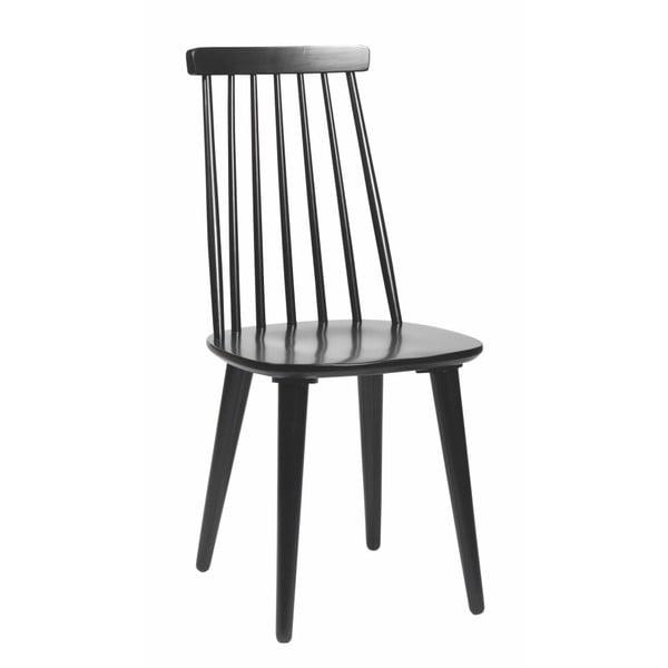 Čierna jedálenská stolička Rowico Lotta