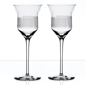 Sada 2 sklenic na červené víno Lines od Olgoj Chorchoj, 240 ml