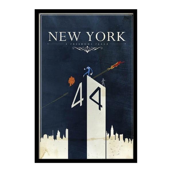 Plakát New York, 35x30 cm