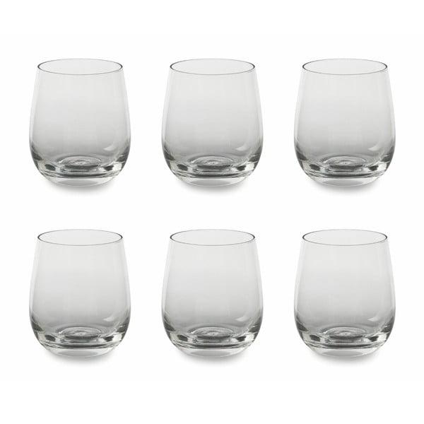 Sada 6 skleniček na vodu Villa d'Este Transparent,330ml