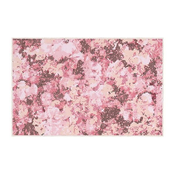 Růžový koberec Oyo home Rory, 100x140cm