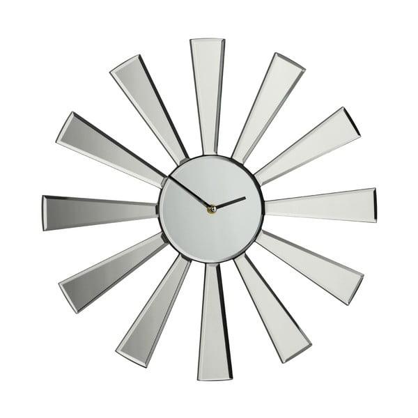 Zrcadlové hodiny Spoke, 50 cm