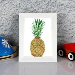 Zarámovaný obraz Dekorjinal Pouff Sweet Peanapple, 23x17cm