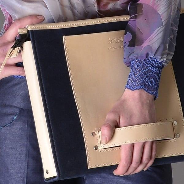 """HANDO aktovka/taška na notebook 11-13"""" Cream"""