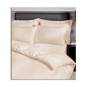 Povlečení Satin Stripe Cream, 200x200 cm