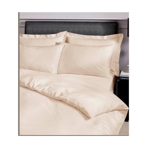 Povlečení Satin Stripe Cream, 135x200 cm