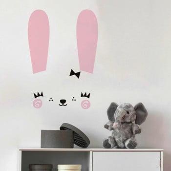 Set autocolante pentru perete Ambiance Cute Bunny imagine