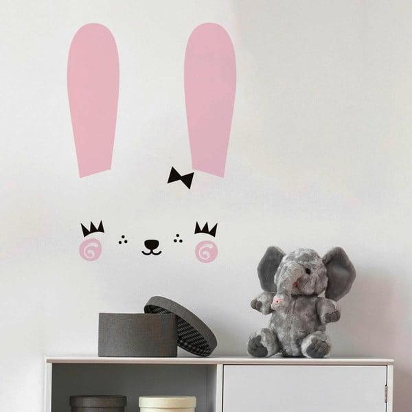 Sada samolepiek na stenu Ambiance Cute Bunny