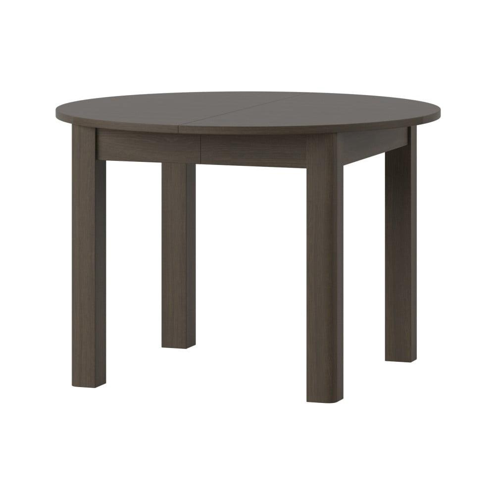 Rozkládací jídelní stůl ve tmavém dřevěném dekoru Szynaka Meble Uran