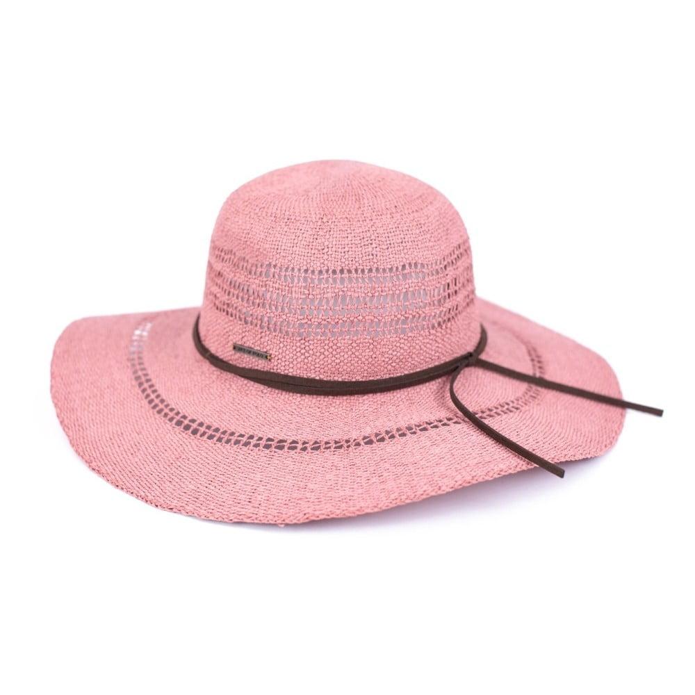 Růžový klobouk Art of Polo Mindy