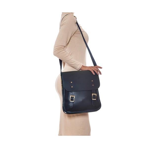 Kožená kabelka Renata Corsi 399 Blu