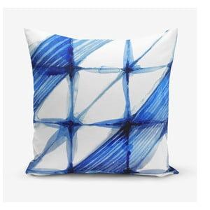 Povlak na polštář s příměsí bavlny Minimalist Cushion Covers Aquarel, 45 x 45 cm