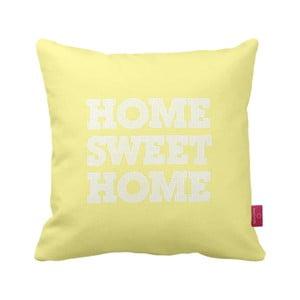 Polštář Home Yellow, 43x43 cm