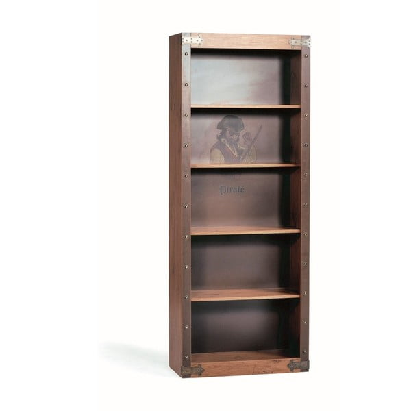 Knižnica Pirate Bookcase