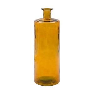 Ornžová váza z recyklovaného skla Mauro Ferretti Lop, výška75cm