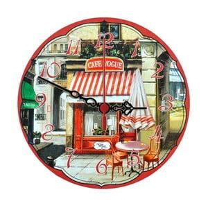 Nástěnné hodiny Cafe Vogue, 30 cm