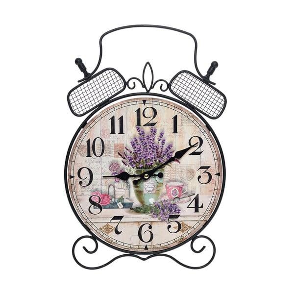 Nástěnné hodiny Lavender Clock