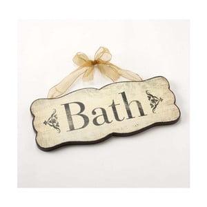Vintage cedule Bath