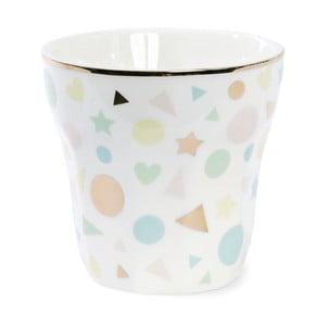 Cană ceramică  Miss Étoile Confetti, îngustă