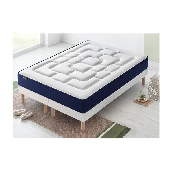 Dvoulůžková postel s matrací Bobochic Paris Velours,80x200cm +80x200cm