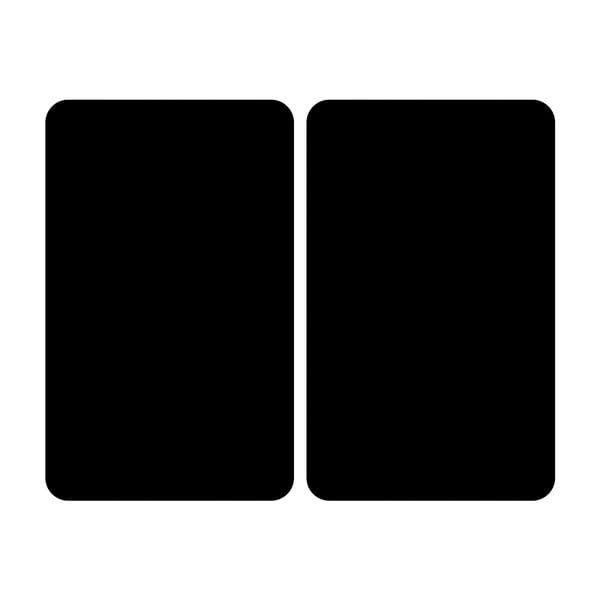 Skleněný kryt na sporák Wenko Universal black