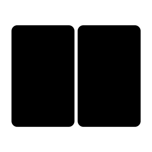 Sklenený kryt na sporák Wenko Universal black