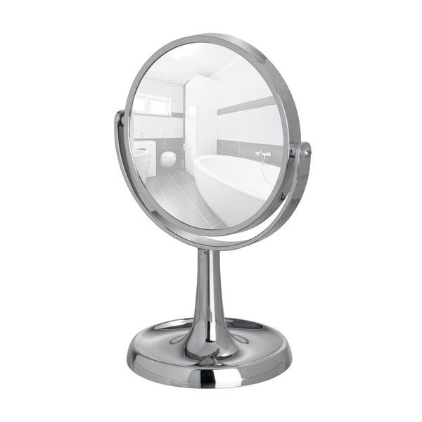 Chromované stojací zvětšovací zrcadlo Wenko Rosolina, výška28cm