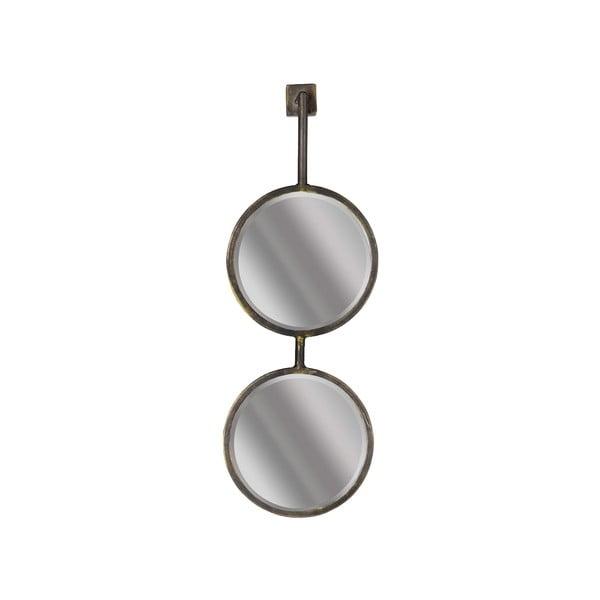 Dvojité kulaté nástěnné zrcadlo BePureHome Chain, délka58cm
