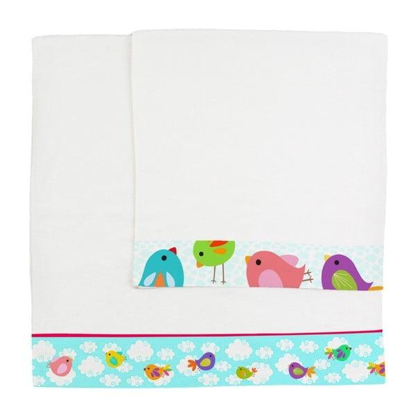 Set osušky a ručníkuLittle W Happy Spring