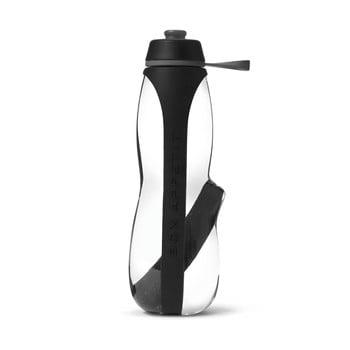 Sticlă sport cu filtru și cărbune binchotan Black + Blum Eau Good Duo, 700 ml, negru de la Black + Blum