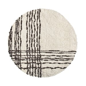 Vlněný koberec Linen Couture Efrain, ⌀ 200 cm