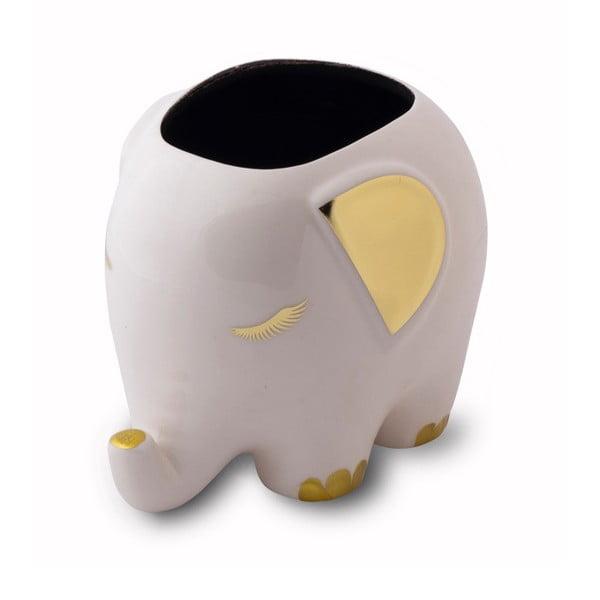 Vas multifuncțional din ceramică în formă de elefant Tri-Coastal Design