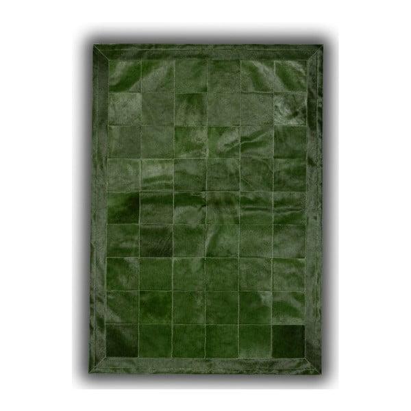 Koberec z pravé kůže Olive, 140x200 cm