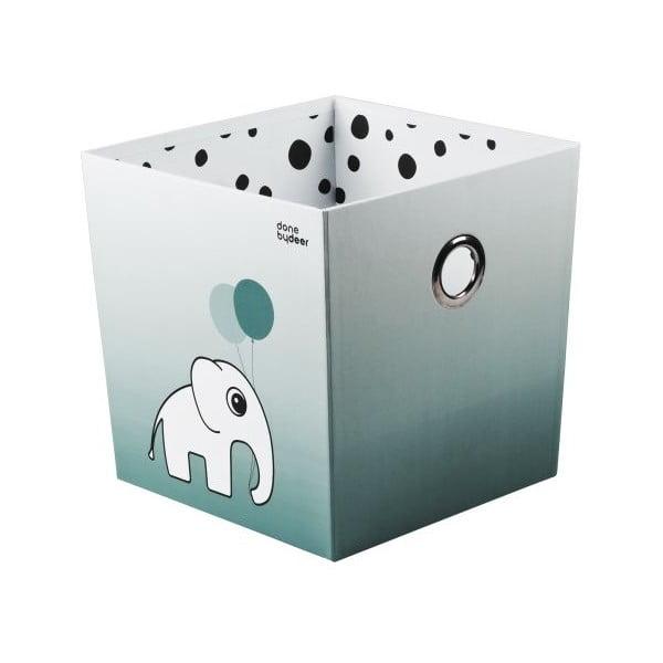 Úložný box Happy Dots, modrý