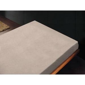 Prostěradlo Liso Crema, 240x260 cm