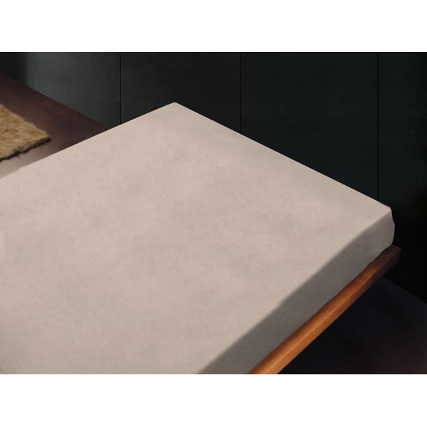 Prostěradlo Liso Crema, 180x260 cm