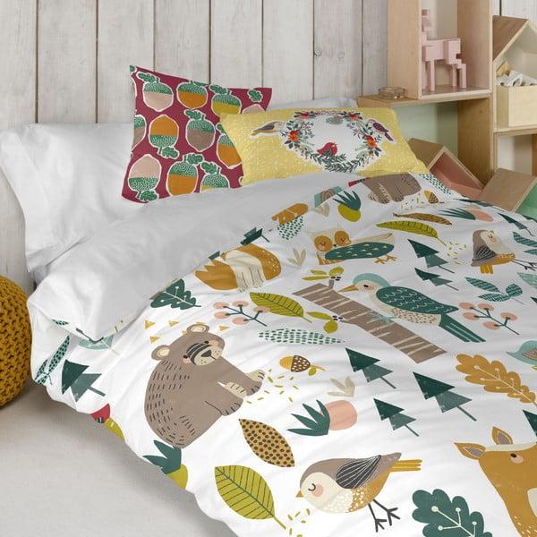 Bavlněný oboustranný povlak na polštář Moshi Moshi Harvestwood, 50x30cm