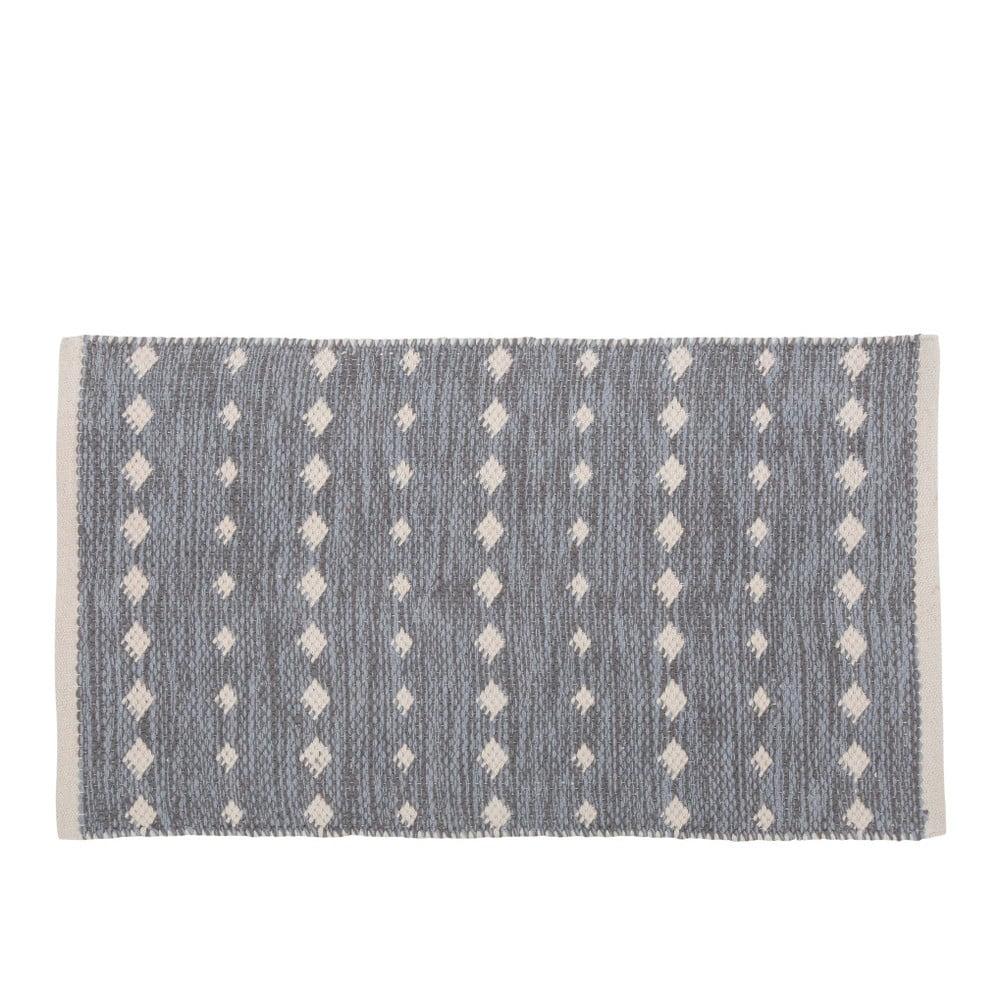 Šedý bavlněný koberec A Simple Mess Ank, 80x50cm A simple Mess