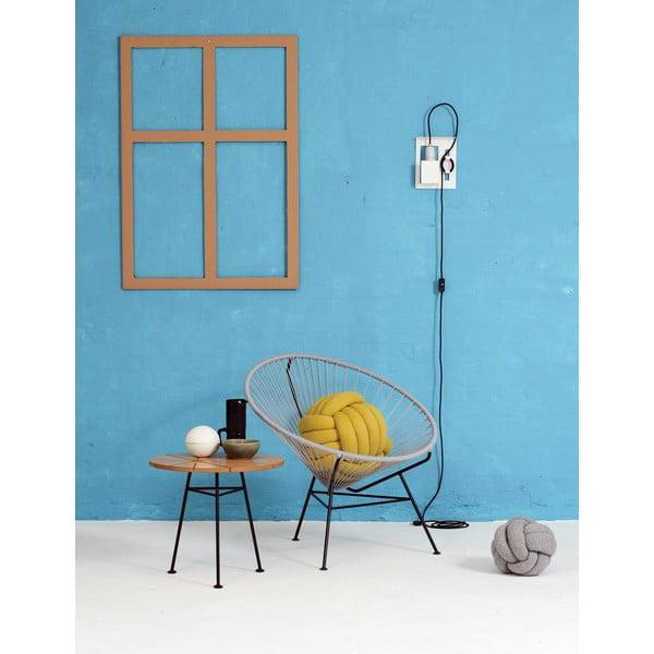 Křeslo Condesa, holubí modř, délka 78 cm