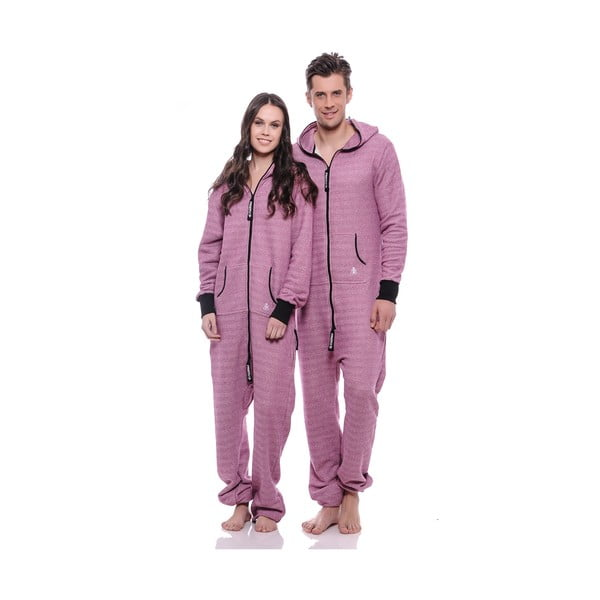 Unisex domácí overal Streetfly Thin Pink Summer, vel. S