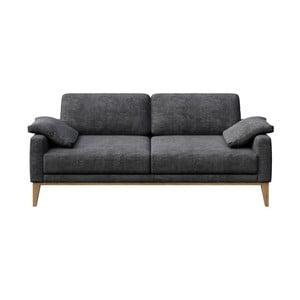 Canapea cu 2 locuri MESONICA Musso, gri închis
