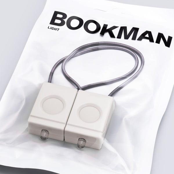 Bílá blikačka Bookman