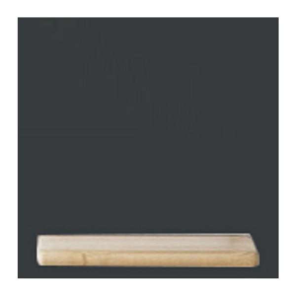 Černý policový díl HARTÔ Marcel, 33,5 x 33,5 cm