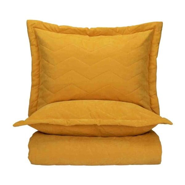 Set 2 povlaků na polštáře a přehozu přes postel Bella Maison Bren, 240 x 260 cm